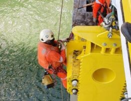 Rope Access Crane installation- A-STAR Group services